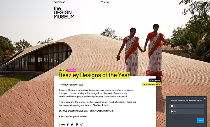 Sameep Padora wins Beazily Architectural design of the year - Design Museum